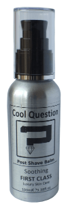 cool question luxury post shave balm