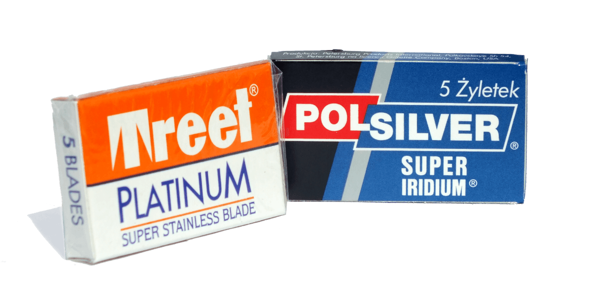 july box treet and polsilver replacement double edge blades