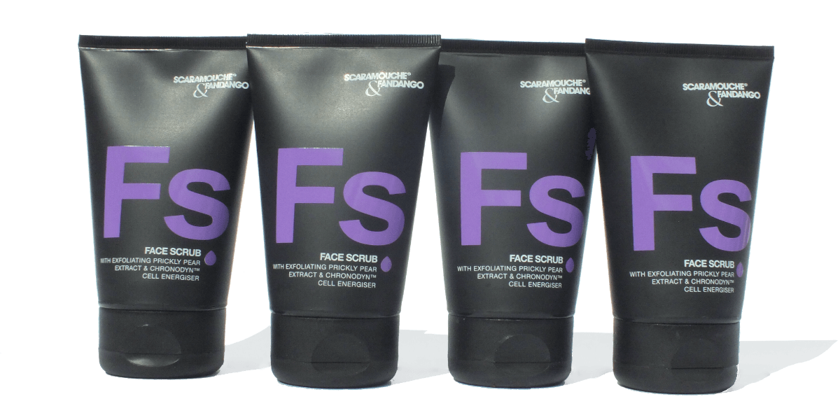 July box pre-shave scaramouche and fandango face scrub