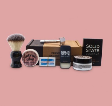June 2016 Subscription Box From The Personal Barber