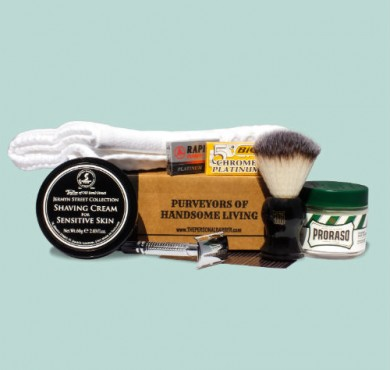 May 2016 Subscription Box from The Personal Barber