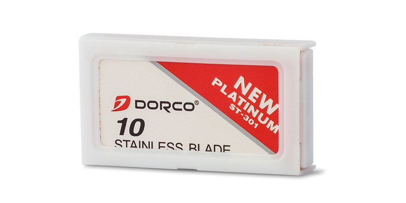 Dorco Platinum 301 replacement DE blades
