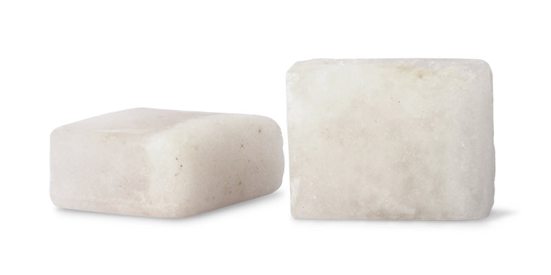 Shaving Alum Stone blocks