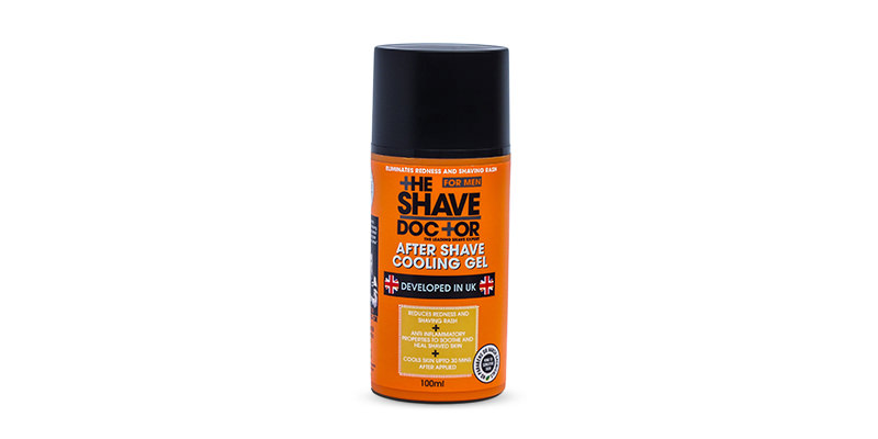 shave doctor aftershave cooling gel