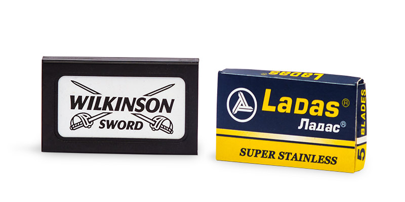 wilkinson sword and lada de razor blades