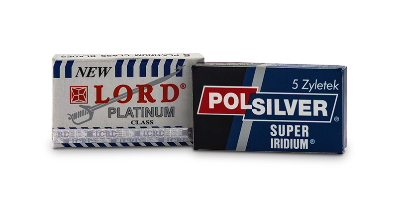 Lord platinum class and polsilver super iridium blades