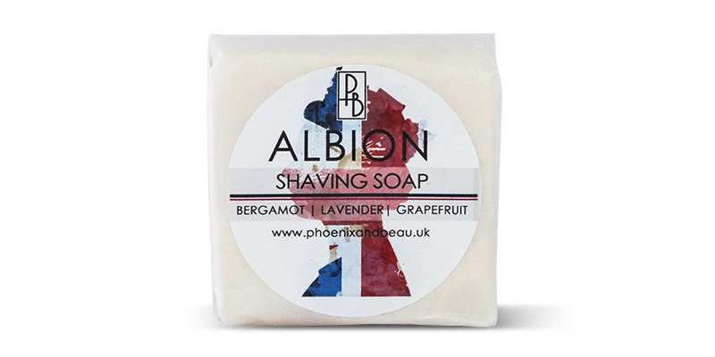 Phoenix and Beau Albion Shaving Soap