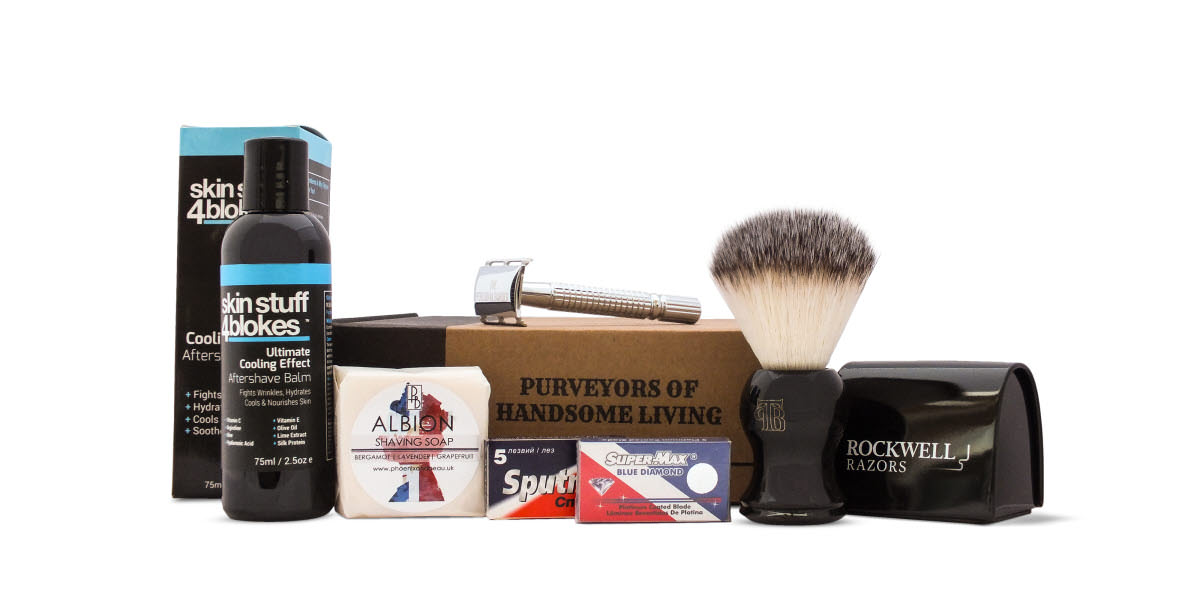 The Personal Barber Shaving kit December 2016