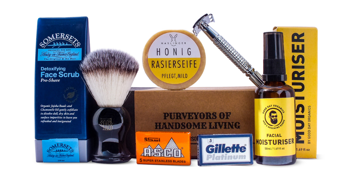 April 2017 Wet Shaving Box from The Personal Barber