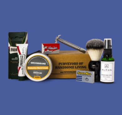 The Personal Barber wet shaving subscription kit feature image May 2017
