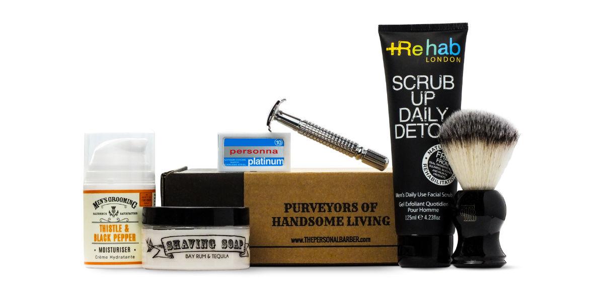 July wet shaving kit