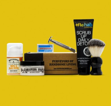 The Personal Barber July Wet Shaving Kit 2017