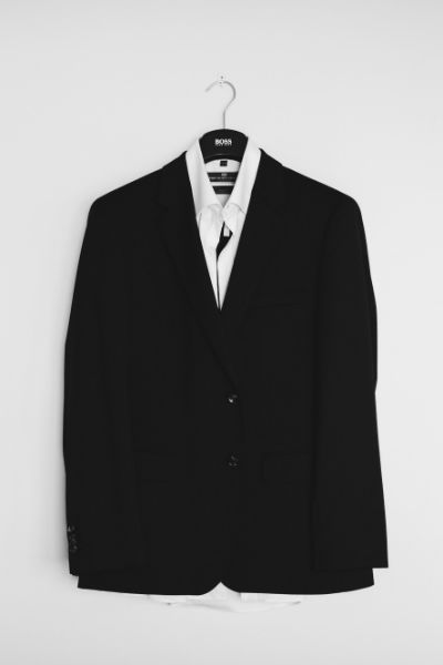 classic stylish suit jacket
