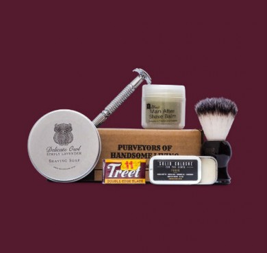 Octobernov wet shaving kit feature image