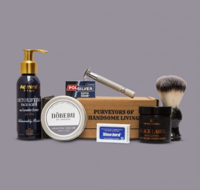 The Personal Barber feature shaving kit november december