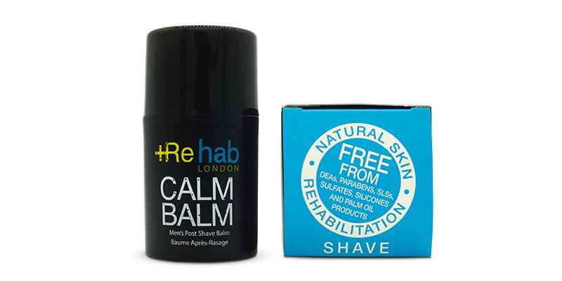 Calm Balm Rehab London After shaving