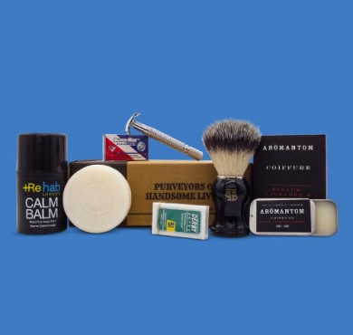 Wet shave kit the personal barber feb march 18