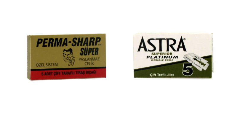 Astra superior platinum 5 pack and perma sharp 5 pack de blades