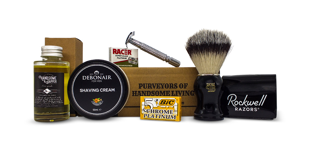 Wet shaving kit mayjune subscription