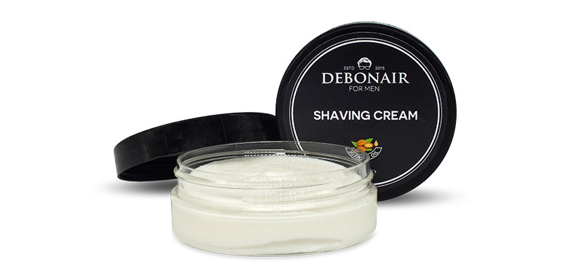 Debonair for men jojoba shaving cream