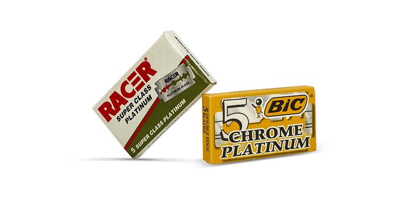 lord racer de blades and BIC chrome de blades