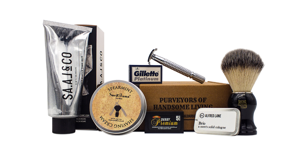 The Personal Barber traditional shaving kit novdecember 18