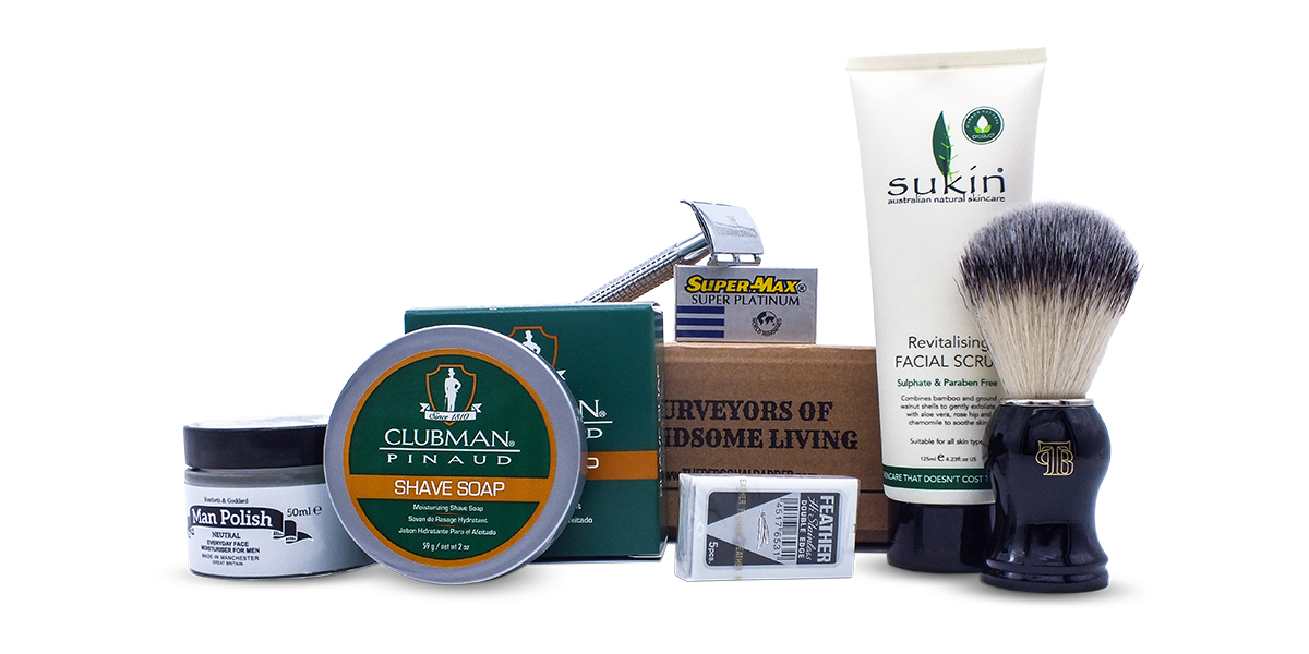 Wet Shaving Kit The Personal Barber