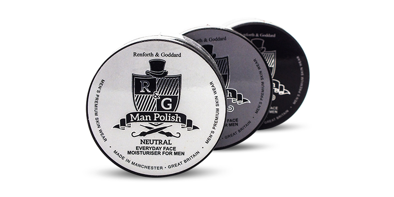 Men's face moisturiser Man Polish