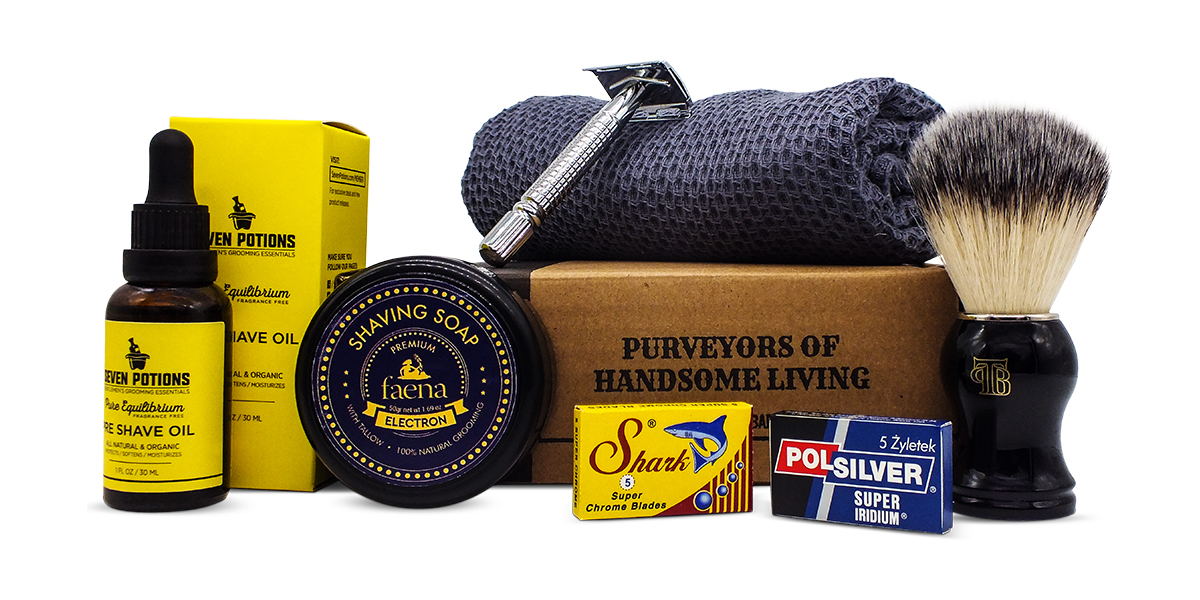 The Personal Barber FebMarch 19 Shaving Kit