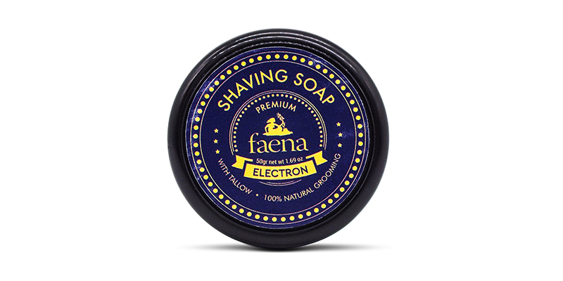 Faena Greek Shaving Soap Electron Fragrance