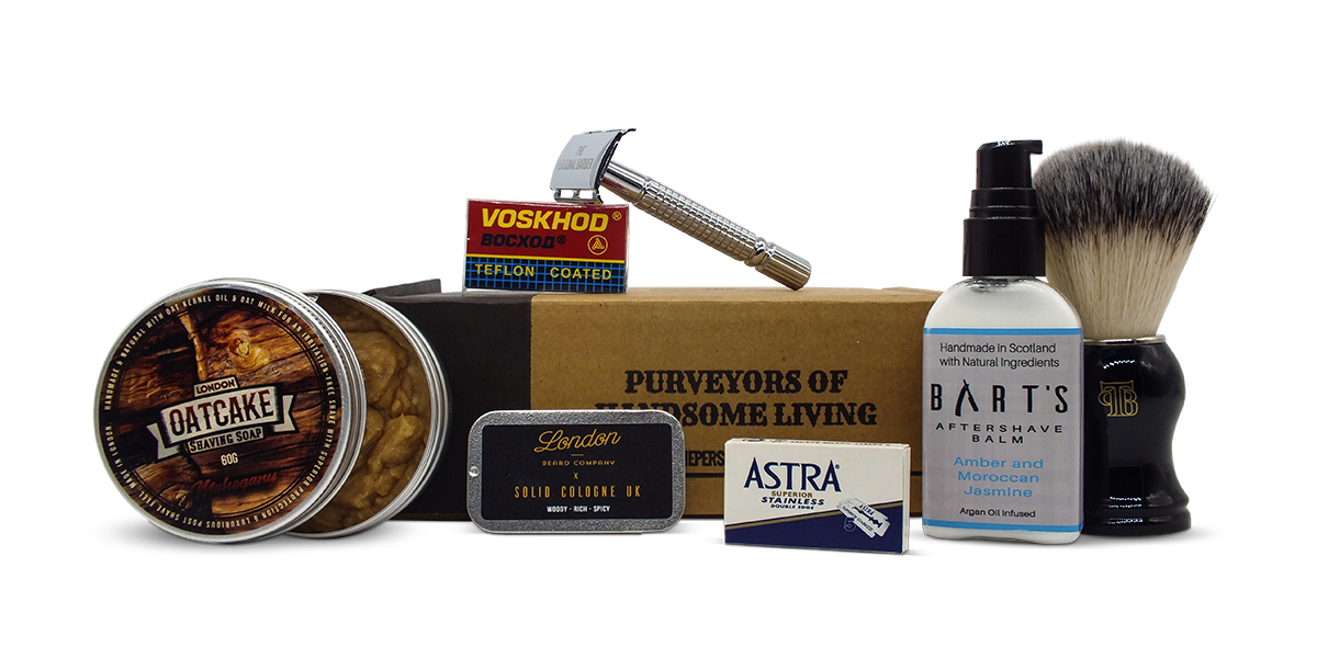The Personal Barber Shaving Subscription Box April May 2019