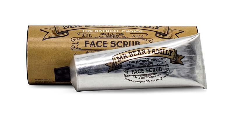Men's Facial Scrub - Mr Bear Family