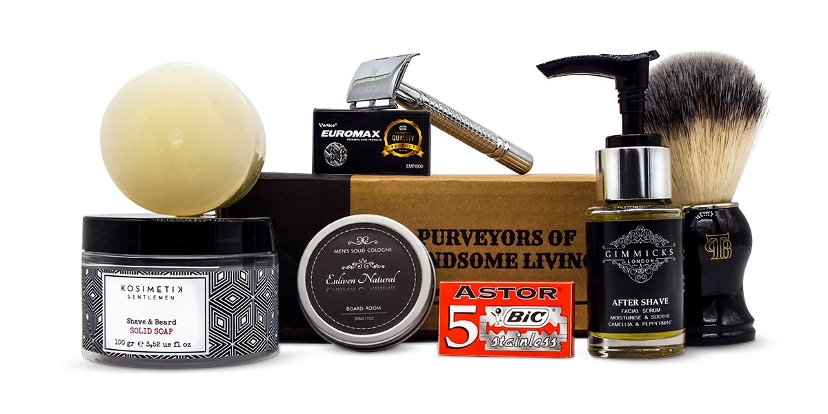 The Personal Barber Shaving Club Kit Sep19
