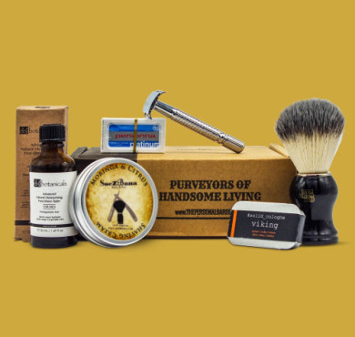 The Personal Barber shaving subscription box January Feb 2020
