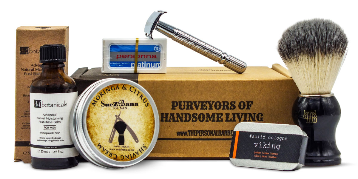 The Personal Barber Subscription box January Feb 2020
