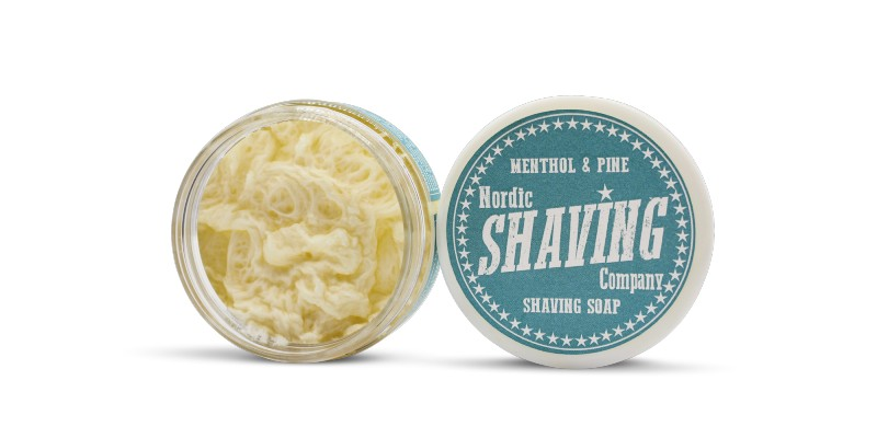 NSC Menthol and pine shaving soap