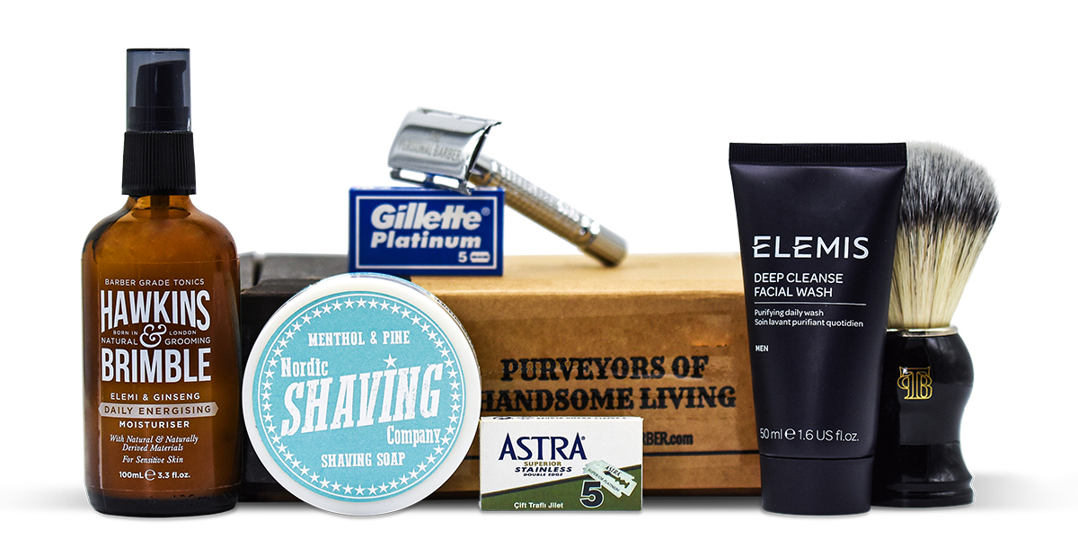 The Personal Barber July August 2020 shaving club box