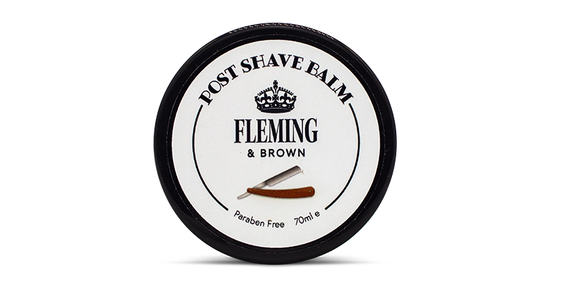 post shave balm fleming and brown