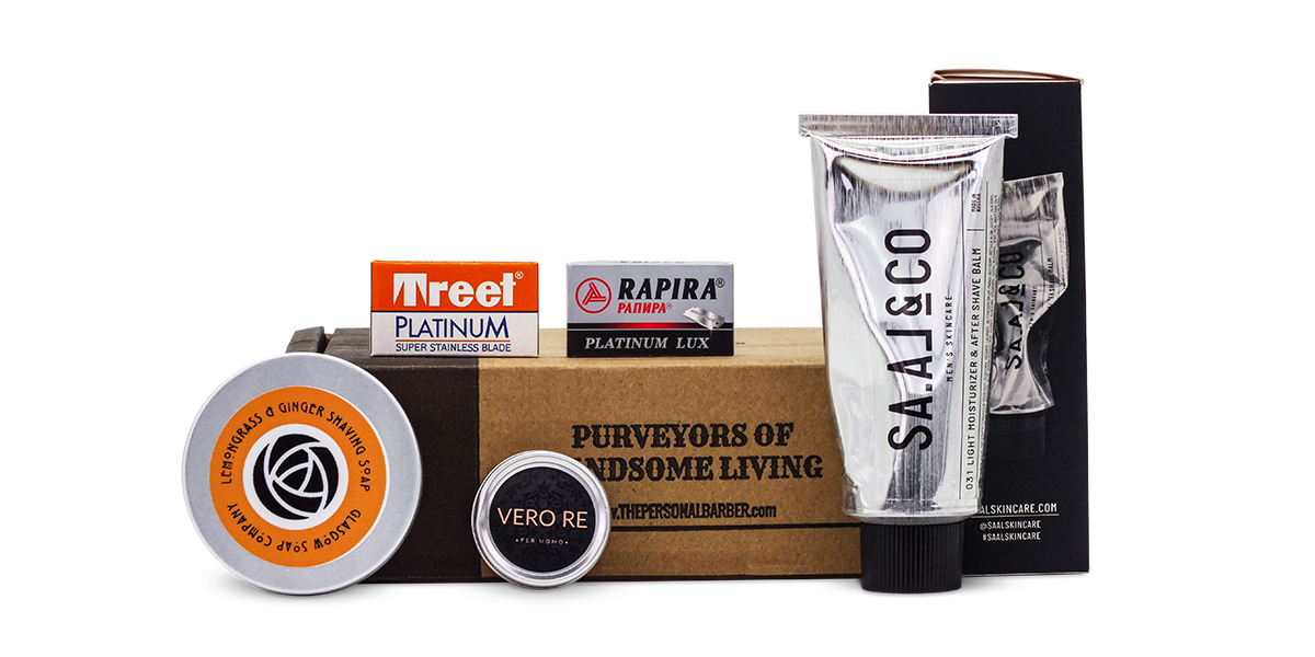 Wet Shaving Kit Recurring box The Personal Barber FebMarch21